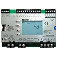 423 - Tekmar Universal Reset Module - Four tN4, Two Boiler, DHW & Setpoint, Microprocessor PID Control