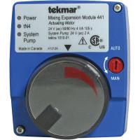 441 - Tekmar Mixing Expansion Module - Actuating Motor, 24VAC, Microprocessor Control