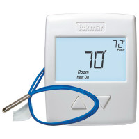 519 - Tekmar Thermostat, One Stage Heat, Includes Slab Sensor 079, 10-30VAC/DC, Microprocessor Control