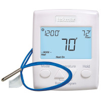 521 - Tekmar Thermostat, Two Heat or Heat-Cool, Includes Sensor 079, 10-30VAC/DC, Microprocessor Control