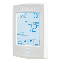 554 - Tekmar Thermostat, One Stage Heat, One Stage Cool, One Fan, 24V, Microprocessor Control