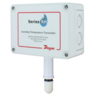 RHP-3S22 - Dwyer Humidity/Temperature Transmitter, Outside Air with Sintered Filter, 0-10V RH&Temp