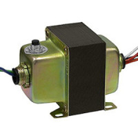 7541CBDH - INTEC Controls Control Transformer, Double Hub, 120/208/240-24VAC, 75VA, with Circuit Breaker