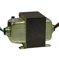 10041DHCB - INTEC Controls Control Transformer, Double Hub, 120/240/277/480-24VAC, 96VA, with Circuit Breaker