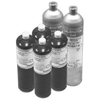 GC-17-012 - INTEC Controls Gas Calibration Cylinder, 17 Liter, Carbon Dioxide (CO2), 2000 ppm in Air
