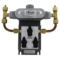 629-02-CH-P2-E5-S1-3V - Dwyer Wet/Wet Differential Pressure Transmitter, 0 - 10 psid, 4-20mA, 3-Way
