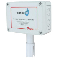 RHP-3O1B - Dwyer Humidity/Temperature Transmitter, Outside Air, 4-20mA RH, 10K Type 2 Thermistor