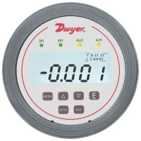 "DH3-002 - Dwyer Differential Pressure Controller, Range 0-0.25"" w.c., 4 Digit Backlit LCD"
