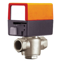 "ZONE315S-35+ZONE24NC - Belimo 3-Way Electronic Zone Valve, 0.5"" Sweat, 3.5 Cv, 24V N.C"