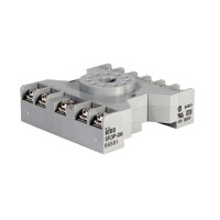 SR3P-06 -IDEC Socket DIN Mount Screw Type. 3 pole, 11 pin