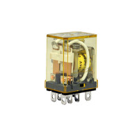 RH2B-UAC24V - IDEC Plug-in Relay DPDT 10A 24VAC Coil with LED