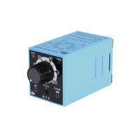 RTE-P2AD24 - IDEC Adjustable Time Delay Relay, Delay on Break, 24VAC Coil