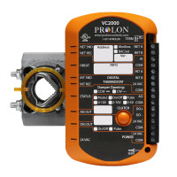 PL-VC2000 - ProLon VAV/Zone Controller w/Actuator No Flow Sensor 1AI, 1DO, 1AO