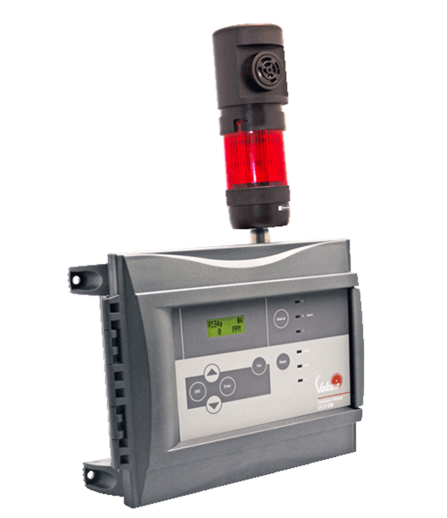 301-EM-RFSA-US3 - Honeywell Analytics - Refrigerant, Toxic & Combustible Gas Detection Controller with Horn & Strobe