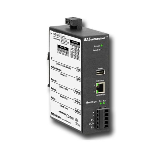 Contemporary Controls  BASGLX-M1 Communication Gateway With Virtual Routing