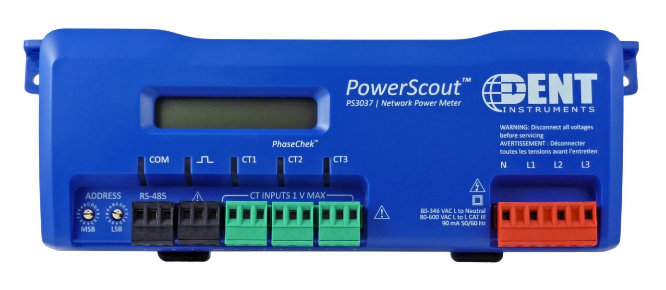 Dent Instruments  PS3037-S-N Networked Power Meter