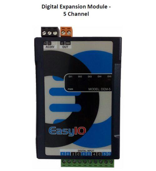 EasyIO  DEM-5 DDC Controls