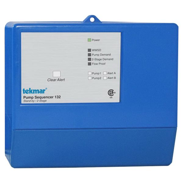 Tekmar Control Systems Classic Series 132 Pump Sequencer