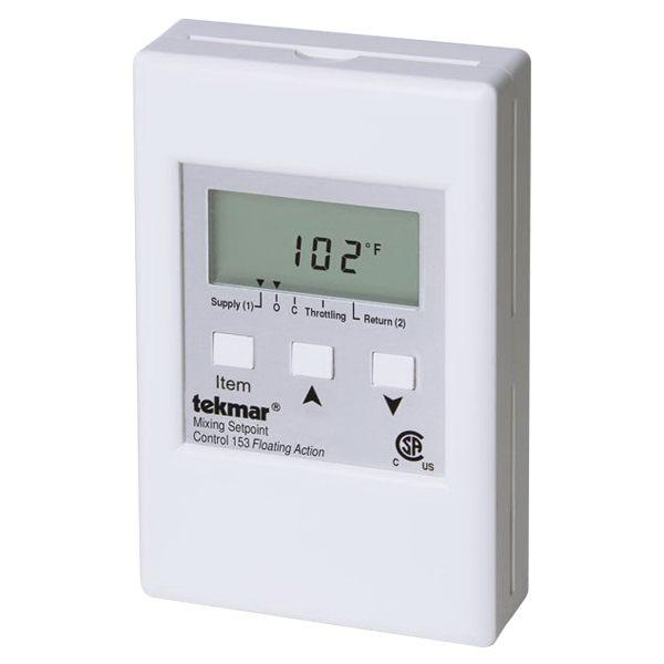 Tekmar Control Systems Classic Series 153 Setpoint Control