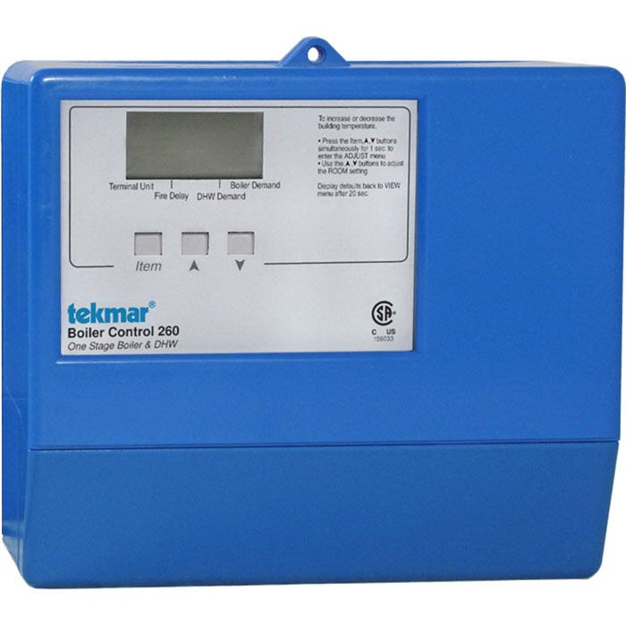 Tekmar Control Systems Classic Series 260 Boiler Control