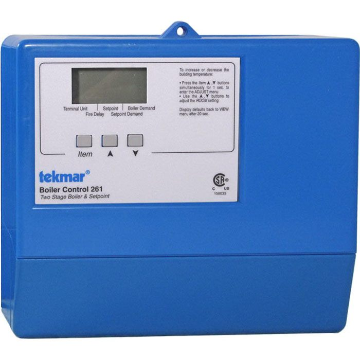 Tekmar Control Systems Classic Series 261 Boiler Control