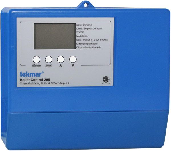 Tekmar Control Systems Classic Series 265 Boiler Control