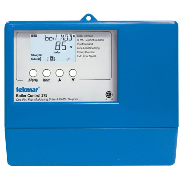 Tekmar Control Systems Performance Series 275 Boiler Control