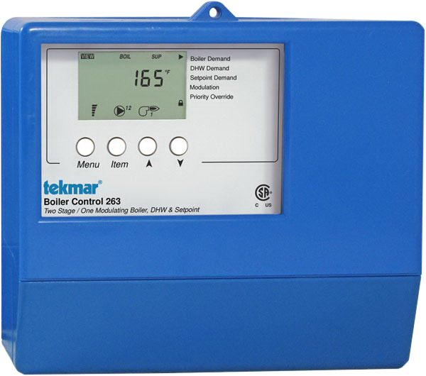 Tekmar Control Systems Classic Series 263 Boiler Control