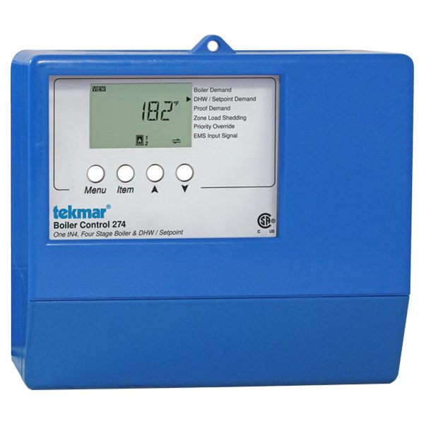 Tekmar Control Systems Performance Series 274 Boiler Control