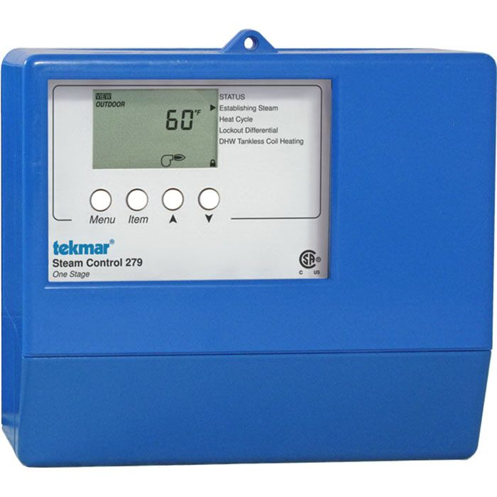 Tekmar Control Systems Classic Series 279 Steam Control