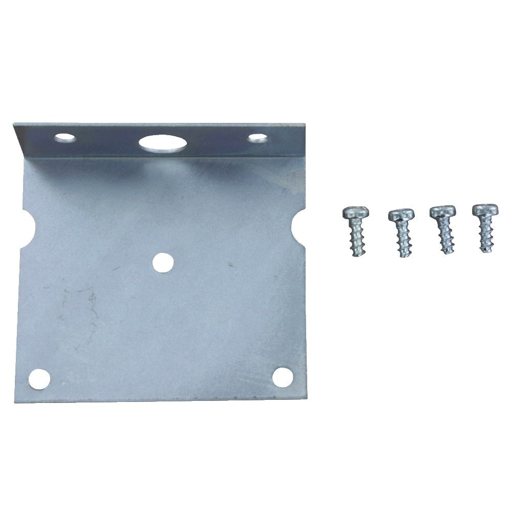 A-288 - Dwyer Mounting Bracket, L Type, Steel, Hammertone Gray