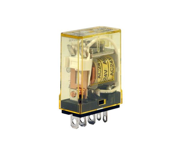 RH1B-ULAC24V - IDEC Plug-in Relay SPDT 10A 24VAC Coil with LED