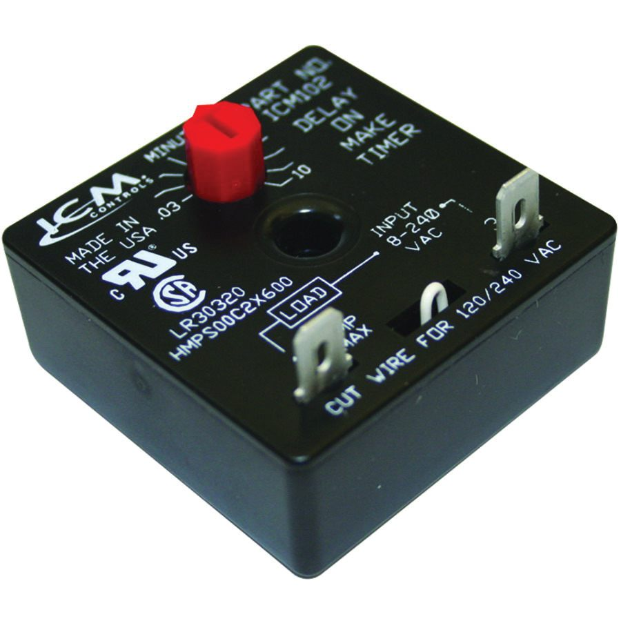 ICM Controls  ICM102 Delay-on-Make Timer