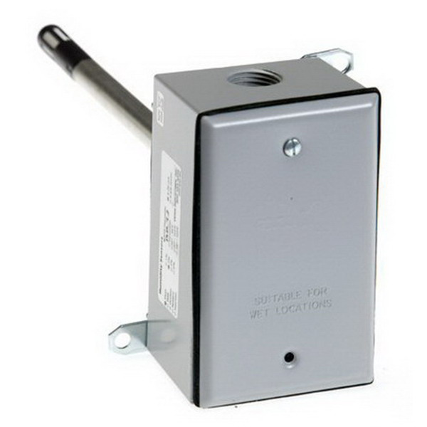 HD2XMSX - Veris Industries Humidity Transmitter, Duct Mount, 2% Accuracy, 4-20mA Output