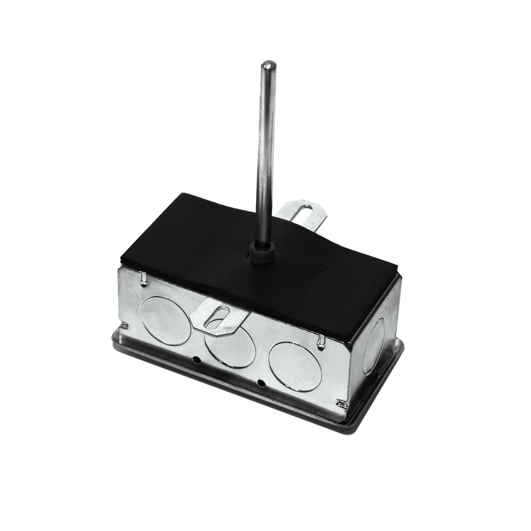 "A/CP-D-12""-GD -  ACI 12"" Duct Temp. Sensor 10K Typ 2 Galvanized Box"