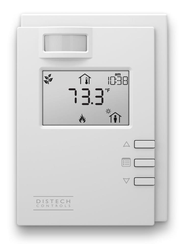 Distech Controls Allure Room Sensors ALLURE EC-SMART-VUE EC-Smart-Vue
