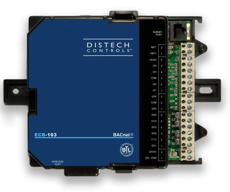 Distech Controls  ECB-103 BACnet Programmable Controllers