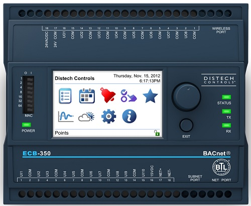 Distech Controls  ECB-300 BACnet Programmable Controllers