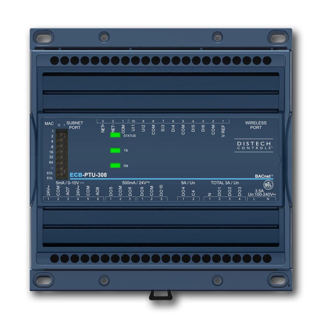 ECB-PTU-208 - Distech Controls ECB-PTU-208 Programmable Controller, CDIB-PTU208XXX-00