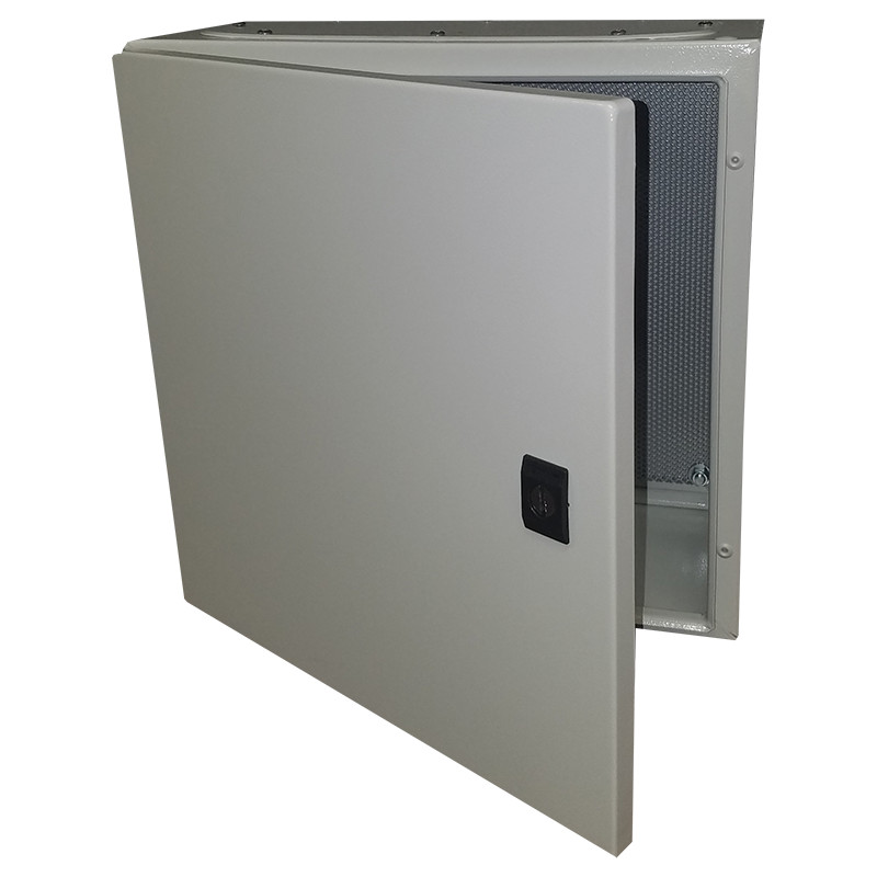 C-ONEBOX161608P - Kele Multi-Rated NEMA 4 Enclosure, 16X16X08 with Perforated Panel (SMALL)