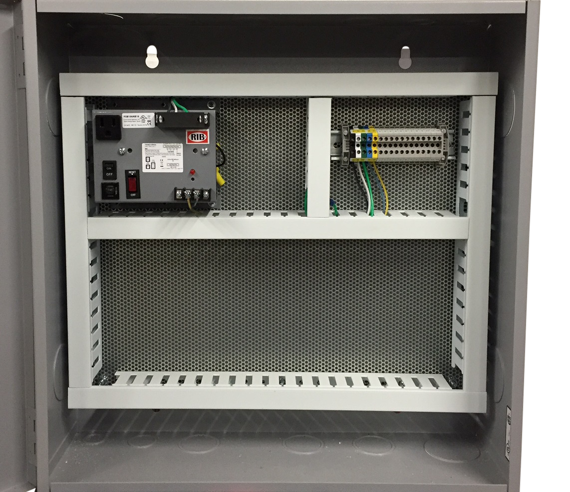 CCI  PRE-FAB SMALL NEMA 1 Panel Fabrication