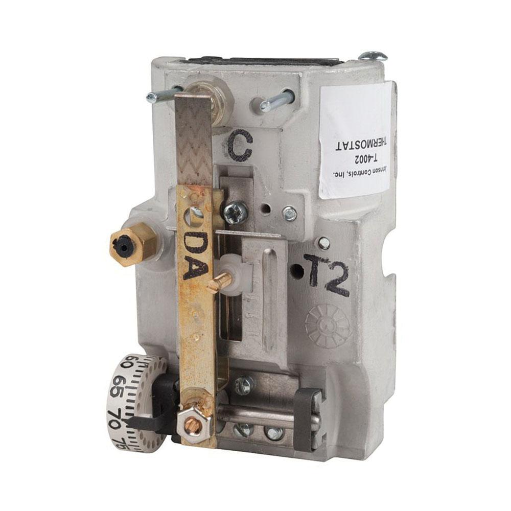 T-4002-201 - Johnson Controls  Pneumatic Thermostat  Dir Act Horiz