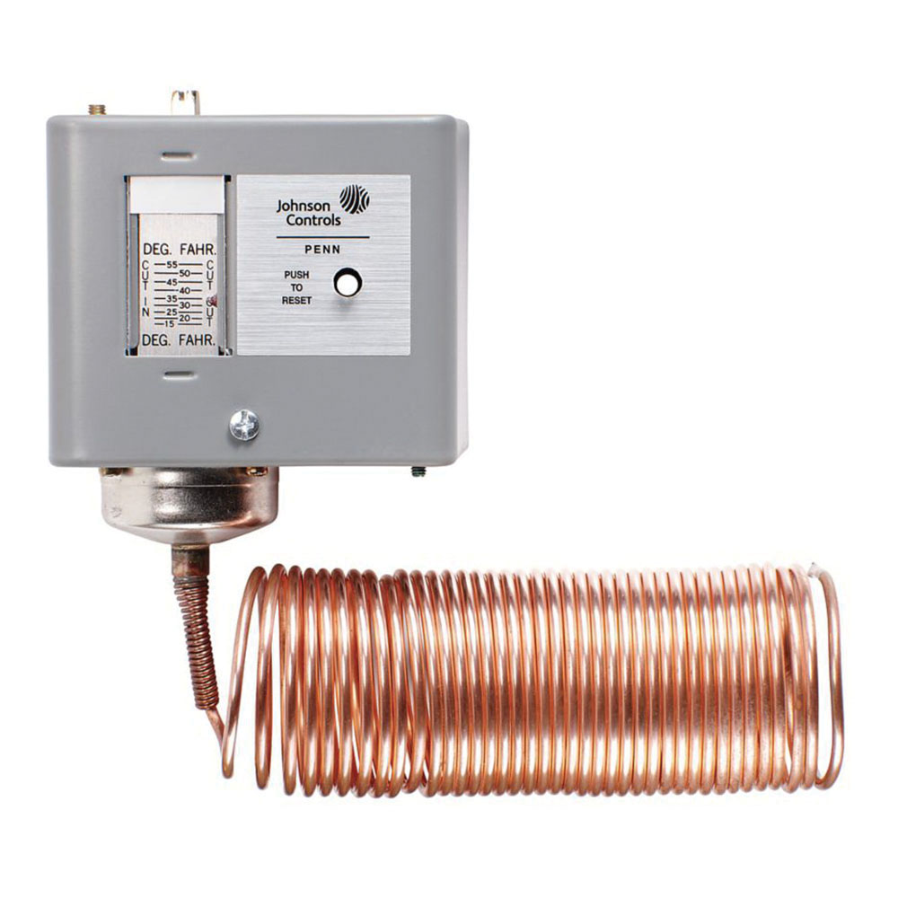 A70HA-1C - Johnson Controls  Two circuit temp controller 15/55f