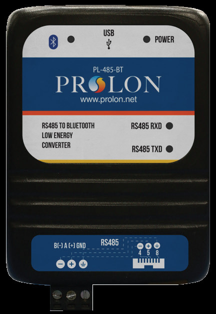 PL-485-BT - ProLon Bluetooth to RS485 Converter