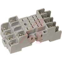 SY4S-05 - DIN Rail Socket For Ru4S and Ru42S