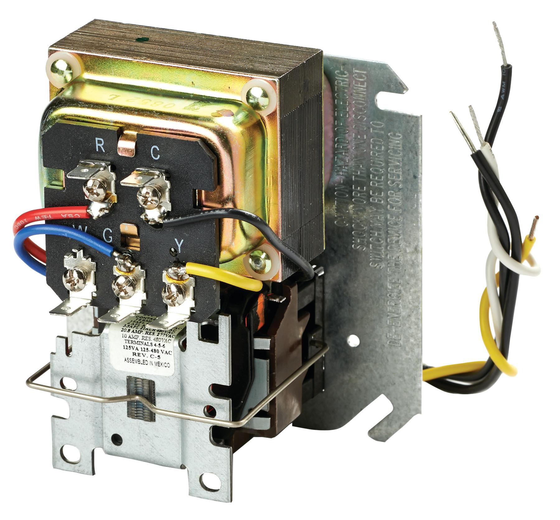 R8285A1048 - Honeywell Control Center w/40VA 120/24V Transformer