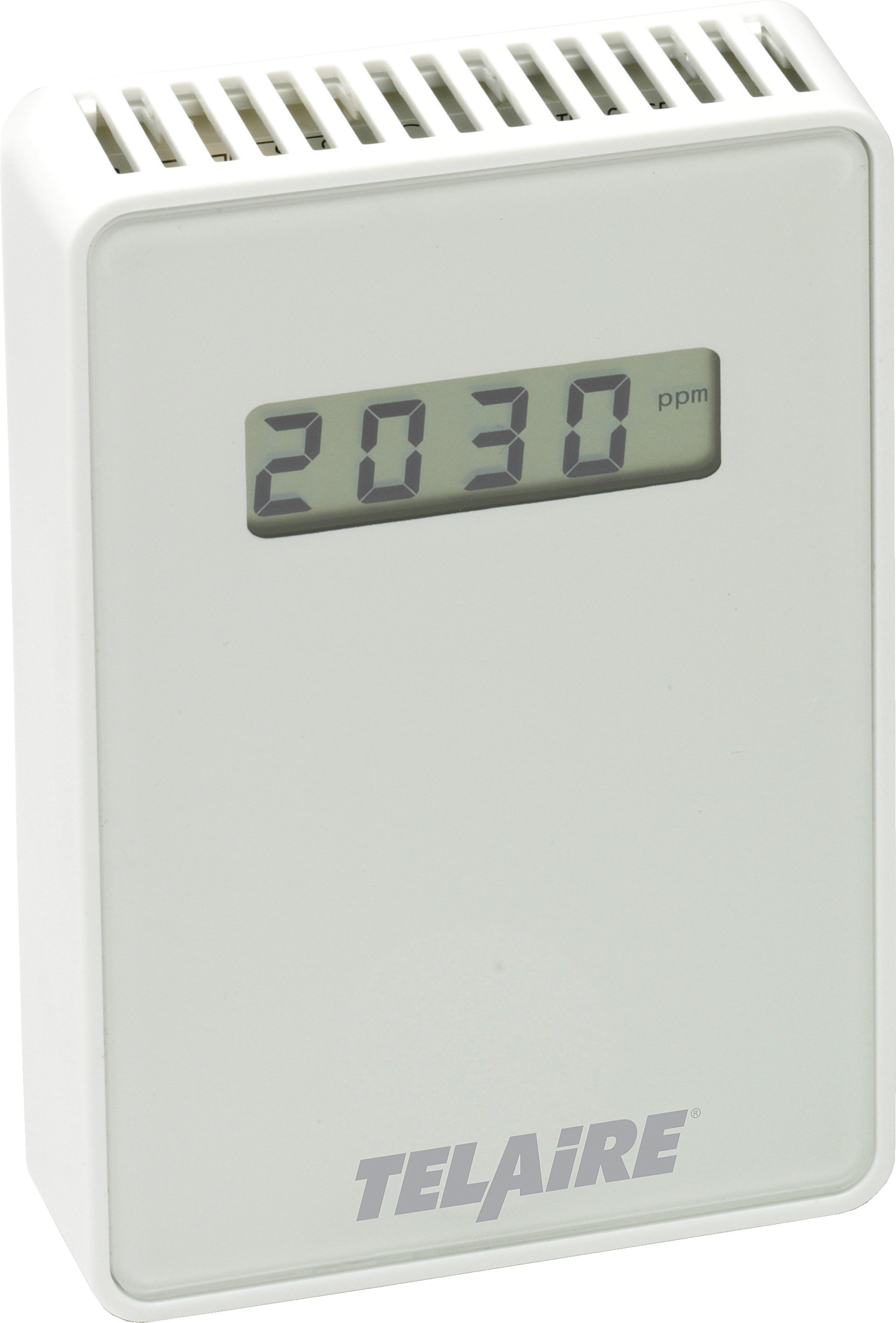 T8100-D - Telaire CO2 Wall Mount Sensor Lcd Display White - Telaire No Relay
