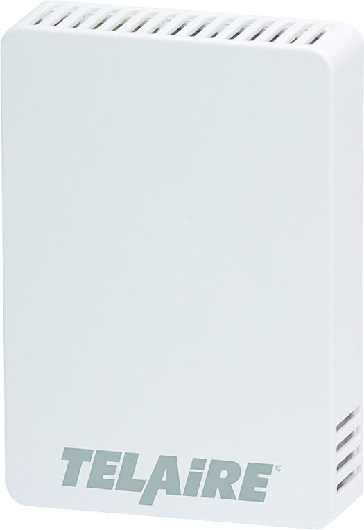 T8100-NSP-GN - Telaire CO2 Wall Sensor White Nightsetback Override Potentiometer No Logo