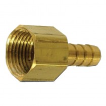 "B-135 - Schneider Electric Adapter, Brass, 1/4"" Barb x 1/8"" FPT"