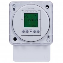 FM1D50A-12 - Intermatic Time Switch, 12VAC/DC, 4VA, SPDT, 50 Programs, Surface/DIN Rail
